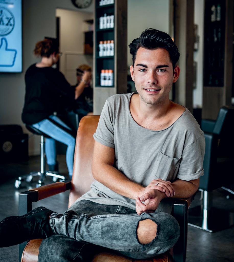 Max Groote (24): het was de enige manier om mijn droom na te jagen.