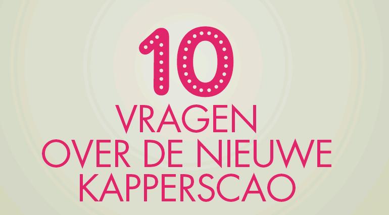10 vragen over de nieuwe kapperscao