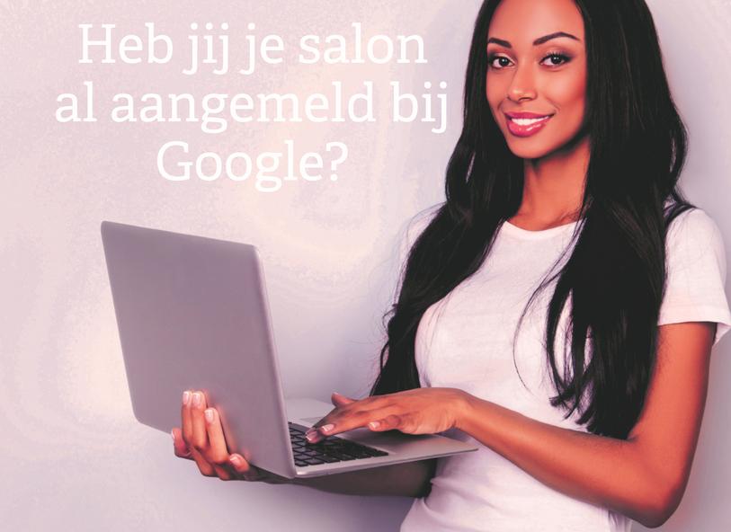 Heb jij je salon al aangemeld bij Google?