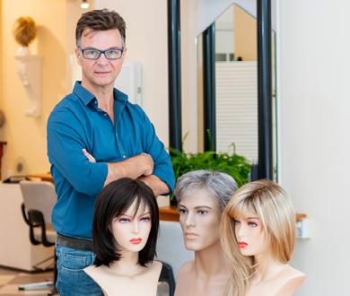 Haarwerk- én ervaringsdeskundige Geert Oosting