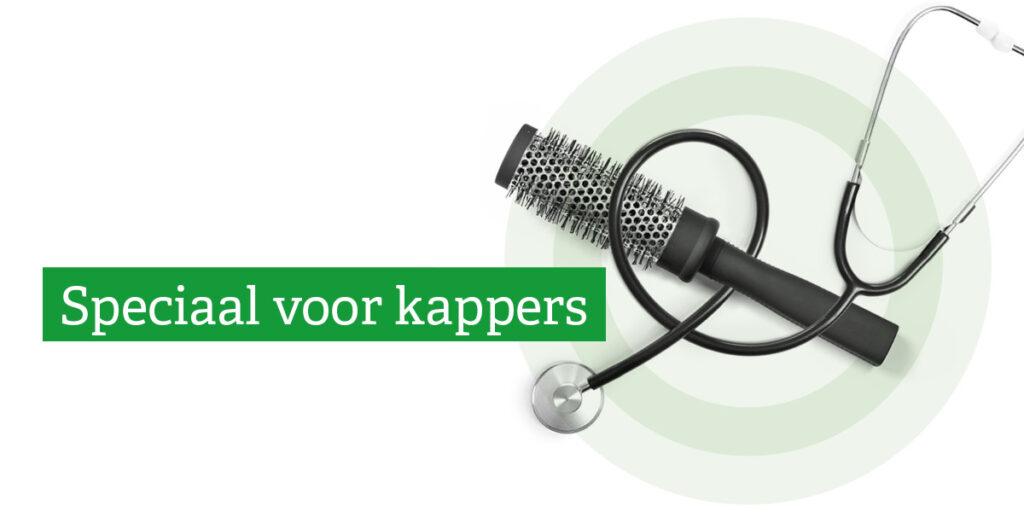 Speciaal voor kappers: korting op je zorgverzekering