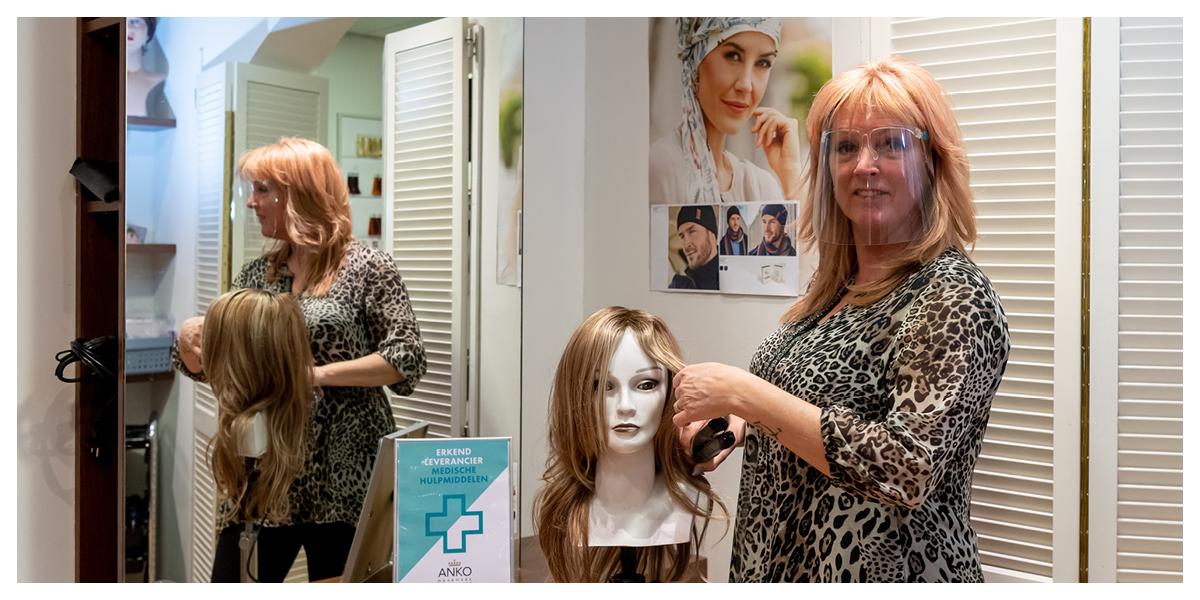 Haarwerkspecialist Astrid Bouwmeester